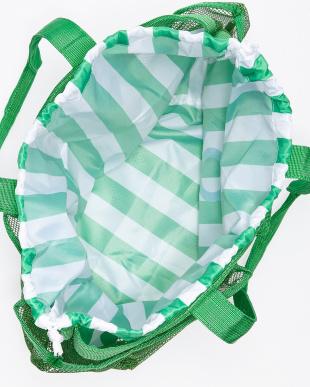 グリーン  メッシュトートバッグ見る