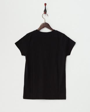 ブラック  HAPPYプリントTシャツ見る