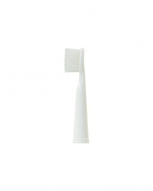 ホワイト  音波式電動歯ブラシ替えブラシ2種セット見る