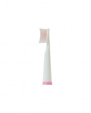 ピンク  音波式電動歯ブラシ替えブラシ2種セット見る