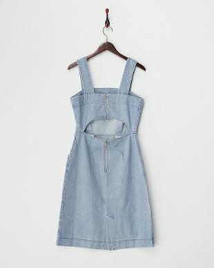 bleach  デニムジャンパースカート見る