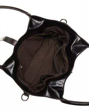 ブラック  トートバッグ&ショルダーバッグセット見る