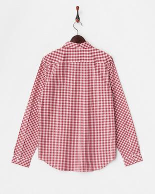RED  ギンガムチェックレギュラーシャツ WH見る