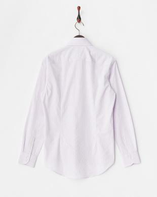 LVD  ストライプワイドカラードレスシャツ WH見る