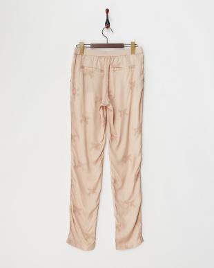 ピンク  PALE BROD バタフライ刺繍パンツ見る