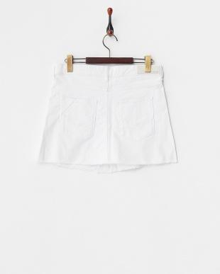 ホワイト JELL BLANC OPGM スカート見る