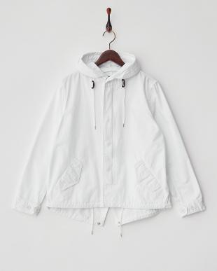 ホワイト  Short Mods Jacket見る
