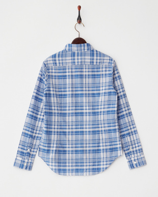 ブルー  CHECK REG. SHIRT見る