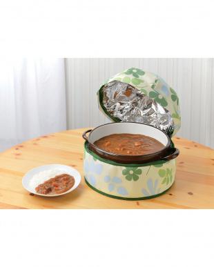 リーフ柄 保温調理鍋カバーほっとクック 30cmまで | Seiei見る