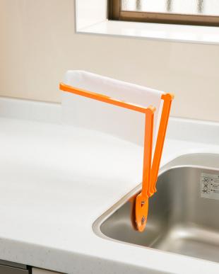 オレンジ  3WAYキッチンハンガー|Seiei見る