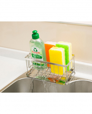 洗剤スポンジラック スリム|Seiei見る