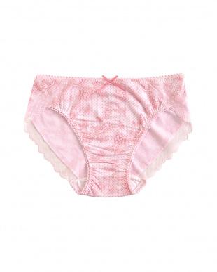 ピンク ポレンヌ スタンダードショーツ 2枚セット見る