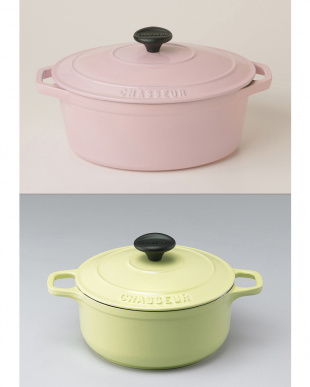 CHASSEUR福袋 ピンク&シトロン鍋セット見る