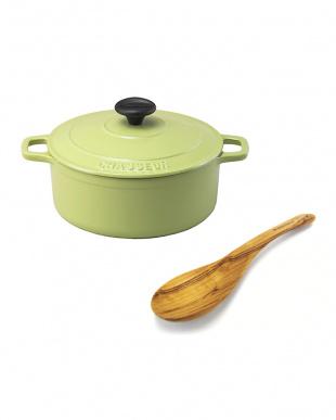 CHASSEUR福袋 ピスタチオ鍋+ウッドツールセット見る