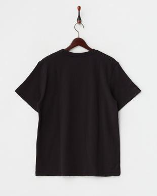 ブラック  半袖スウェットシャツ見る