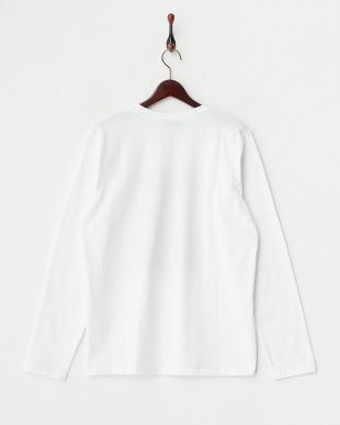ホワイト t-shirt l.a. プリントカットソー見る