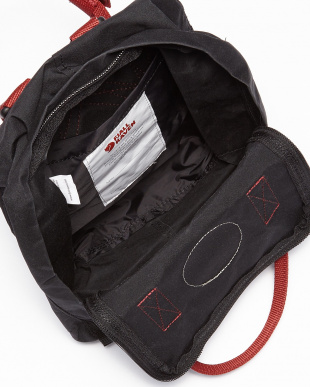 Black Ox Red  Kanken Miniバックパック見る