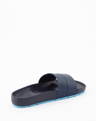 BRIGHT NAVY/SKY BLUE  MENS ORG MOUS SLIDE sandal見る