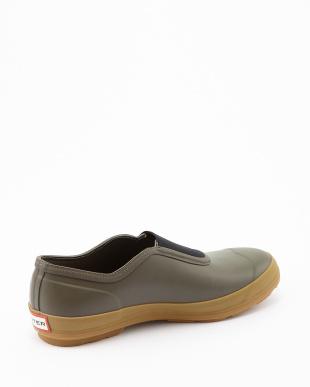 SWAMP GREEN  M ORG PLIMSOLE  GUM SOLE sneaker見る