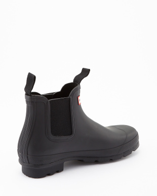 BLACK  M ORG CHELSEA DARK SOLE RMA short boots見る