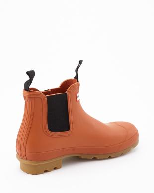 IRON OXIDE  MENS ORG GUMSOLE CHE short boots見る