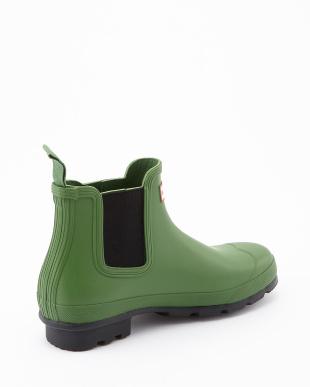 BRIGHT GRASS  M ORG CHELSEA  DARK SOLE RMA U short boots見る