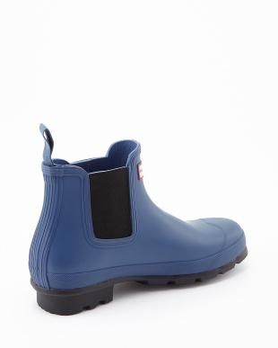 TARP BLUE  M ORG CHELSEA  DARK SOLE RMA U short boots見る