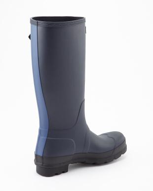 NAVY/TARP BLUE  MEN ORIG TWOTONE TALL boots見る