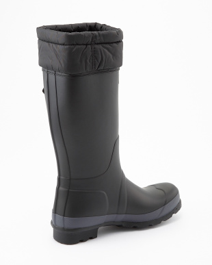 BLACK M ORG TALL BT QUILTED CUFF TALL boots見る