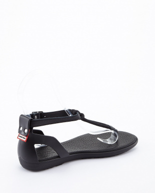 BLACK  ORG ELAS T-BAR SANDAL見る