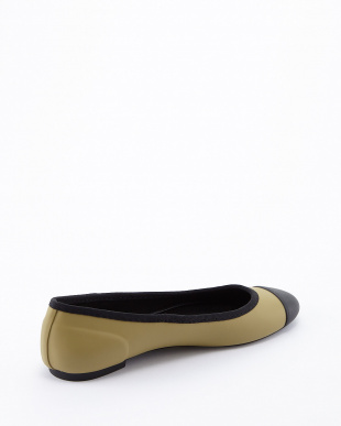 LIGHT OLIVE  ORIGINAL BALLET FLAT SHOES見る