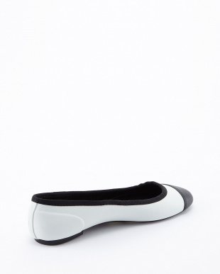 WHITE  ORIGINAL BALLET FLAT SHOES見る