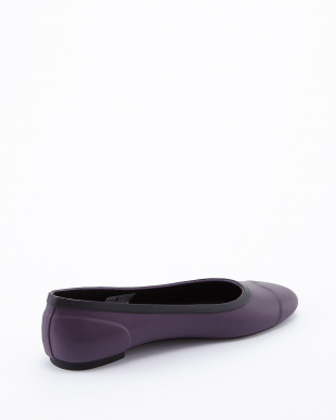 PURPLE URCHIN  ORG TOUR BALLERINA SHOES見る