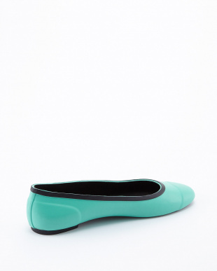 TOURMALINE GREEN  ORG TOUR BALLERINA SHOES見る
