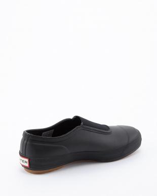 BLACK/BLACK  W ORG PLIMSOLE GUM SOLE SNEAKER見る