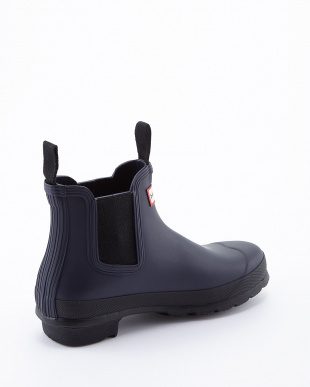 MIDNIGHT  WMN ORG CHELSEA TWO TONE SHORT BOOTS見る