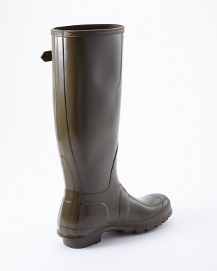 SWAMP GREEN  WMN ORG TALL GLOSS BOOTS見る