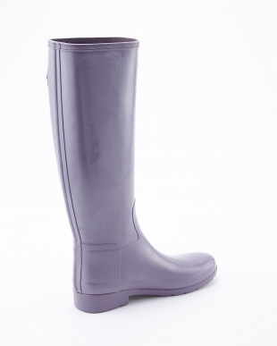 THUNDERCLOUD  W ORG REFINED GLOSS TALL BOOTS見る
