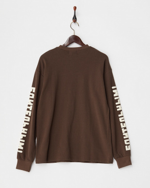 BROWN ON YOUR GUARD' L/S TEE見る