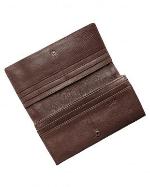 チョコ  かぶせ長財布見る