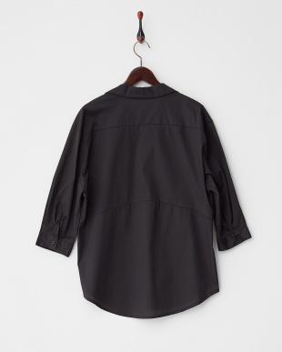 ブラック  スキッパーシャツ見る