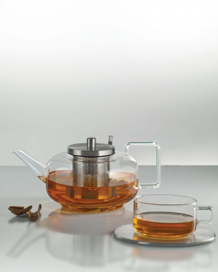 TEA (CONCEPT TEA)ステンレスフィルター付きティーポット*見る