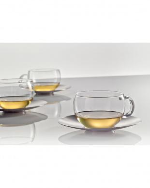 TEA (GOOD MOOD)ティーカップ&ソーサー 2個セット見る