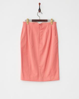 ピンク N/Rダブルサテンハイパワース スカート見る