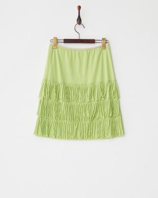 ブライトグリーン Nネット スカート見る