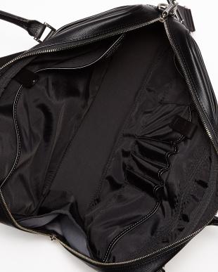 ブラック  QUADRO ビジネスバッグ(A4サイズ対応)見る