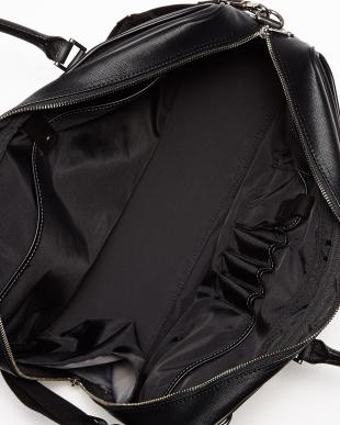 ブラック  QUADRO ビジネスバッグ(B4サイズ対応)見る
