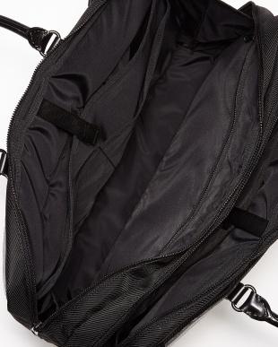 ブラック  ナイロンコンビ ビジネスバッグ(B4サイズ対応)見る