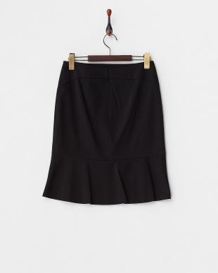 ブラック  ロザージュジャージ マーメイドスカート見る