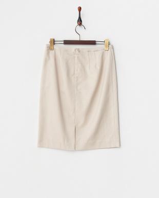 ベージュ ナチュラルグログラン スカート見る